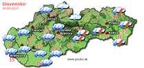 Predpoveď počasia na zajtra (19.09.2017)