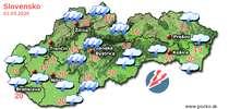 Predpoveď počasia na zajtra (01.05.2020)