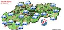 Predpoveď počasia na zajtra (31.05.2020)