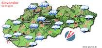 Predpoveď počasia na zajtra (02.05.2021)